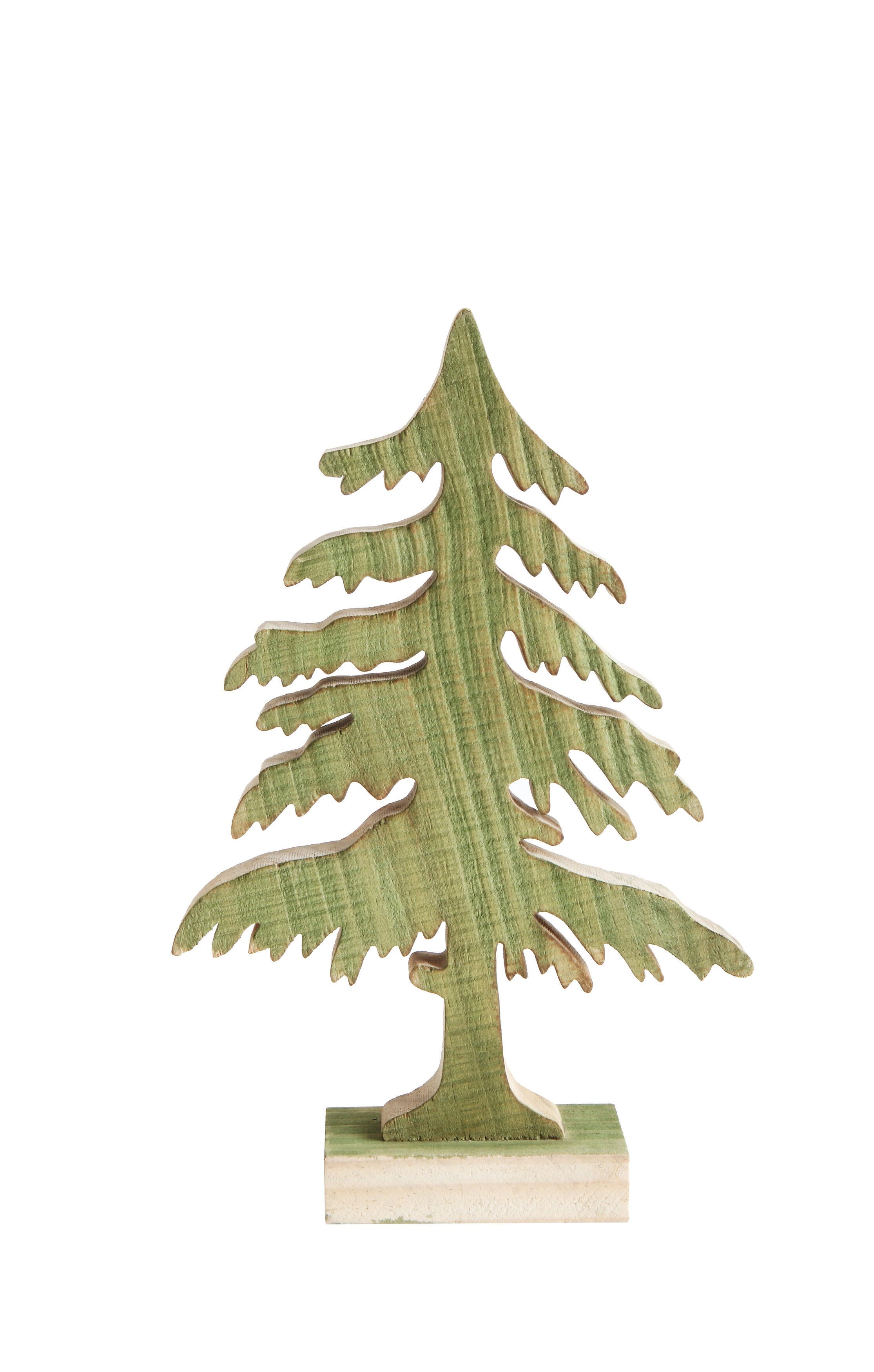 The Holiday Aisle Wood Christmas Tree Wayfair