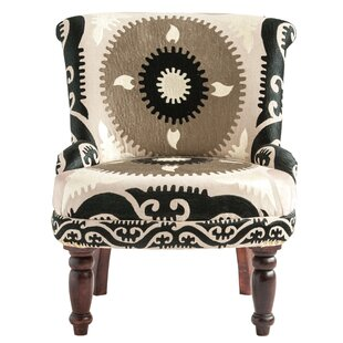 Fussell Embroidered Cotton Suzani Side Chair by Darby Home Co