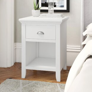 Ziggy 1 Drawer Bedside Table By August Grove
