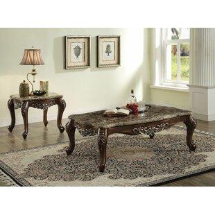 Mccloud 2 Piece Coffee Table Set