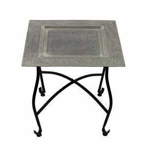 Jorman Moroccan End Table by Bloomsbury Market