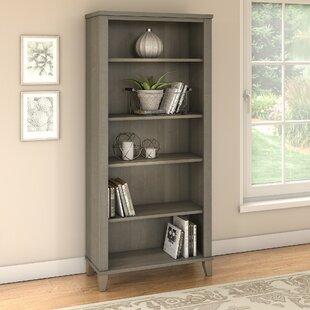 Kirchoff 5 Shelf Standard Bookcase By Ebern Designs