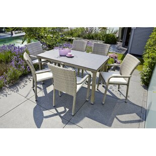 Stimson 6 Seater Dining Set By Brayden Studio