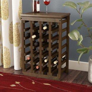 Alcott Hill Garris 24 Bottle Floor Wine Bottle Rack