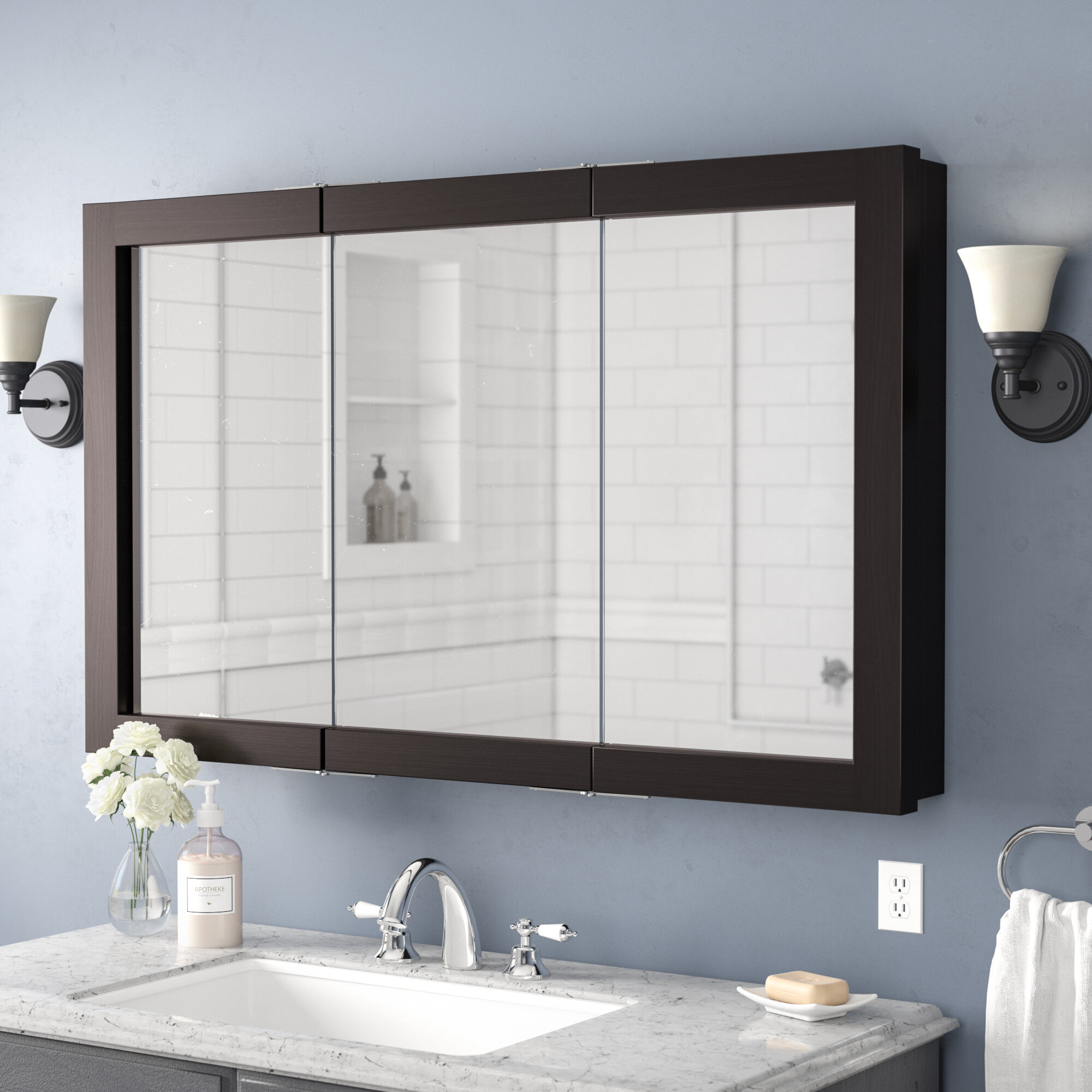 Mirror Door Medicine Cabinets Wayfair