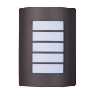 Rhea 1-Light Outdoor Flush..