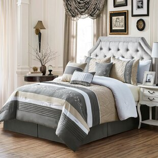Bruner Embroidery Comforter Set