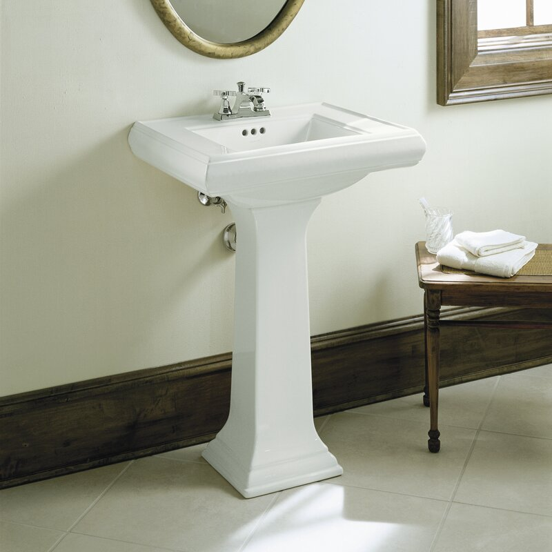 Memoirs Kohler Pedestal Sink | Home design ideas