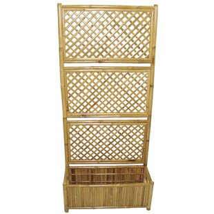 Bamboo54 Wood Lattice Panel Trellis