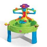 Table de jeu d'eau et de sable pour enfants ronds busy