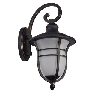 Micaela Outdoor Sconce by Charlton Home