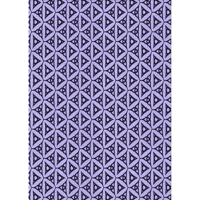 Ebern Designs Geometric Wool Violet Area Rug Wayfair