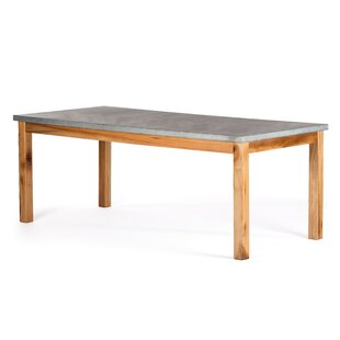 Gracie Oaks Schuler Solid Wood Dining Table