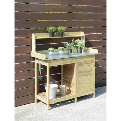 Deluxe Fir Potting Bench