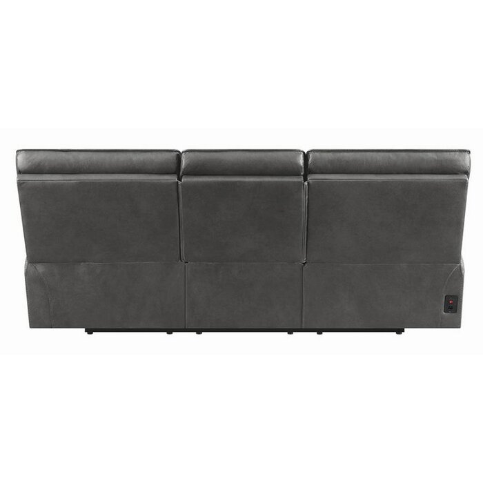 Miraculous Caughfield Leather Reclining Sofa Pabps2019 Chair Design Images Pabps2019Com