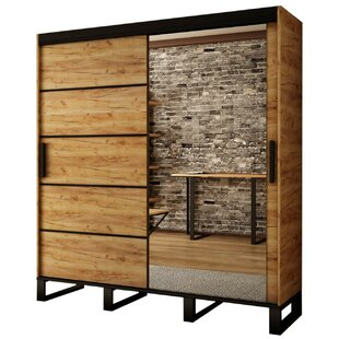 Caoimhe 2 Door Sliding Wardrobe By Union Rustic