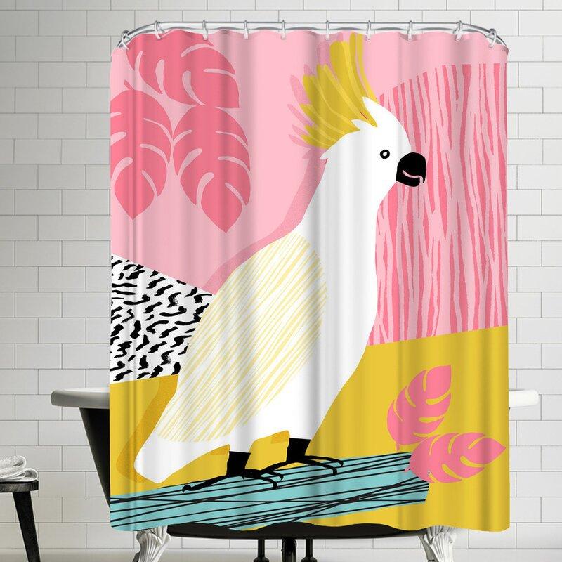 East Urban Home Wacka Designs Feel Free Single Shower Curtain Wayfair