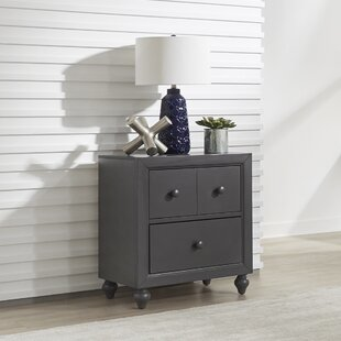 Kennell 2 Drawer NightStand by Three Posts