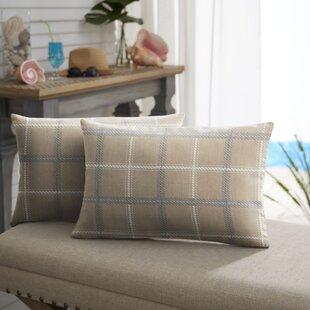 Brody Indoor/Outdoor Lumbar Pillow (Set of 2)