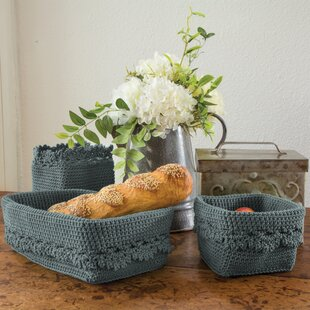 Shopping for Mode Crochet Trim Plastic Basket ByHeritage Lace