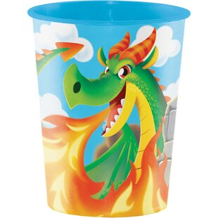 Dragon Keepsake Plastic Disposable Cup (Set of 8)