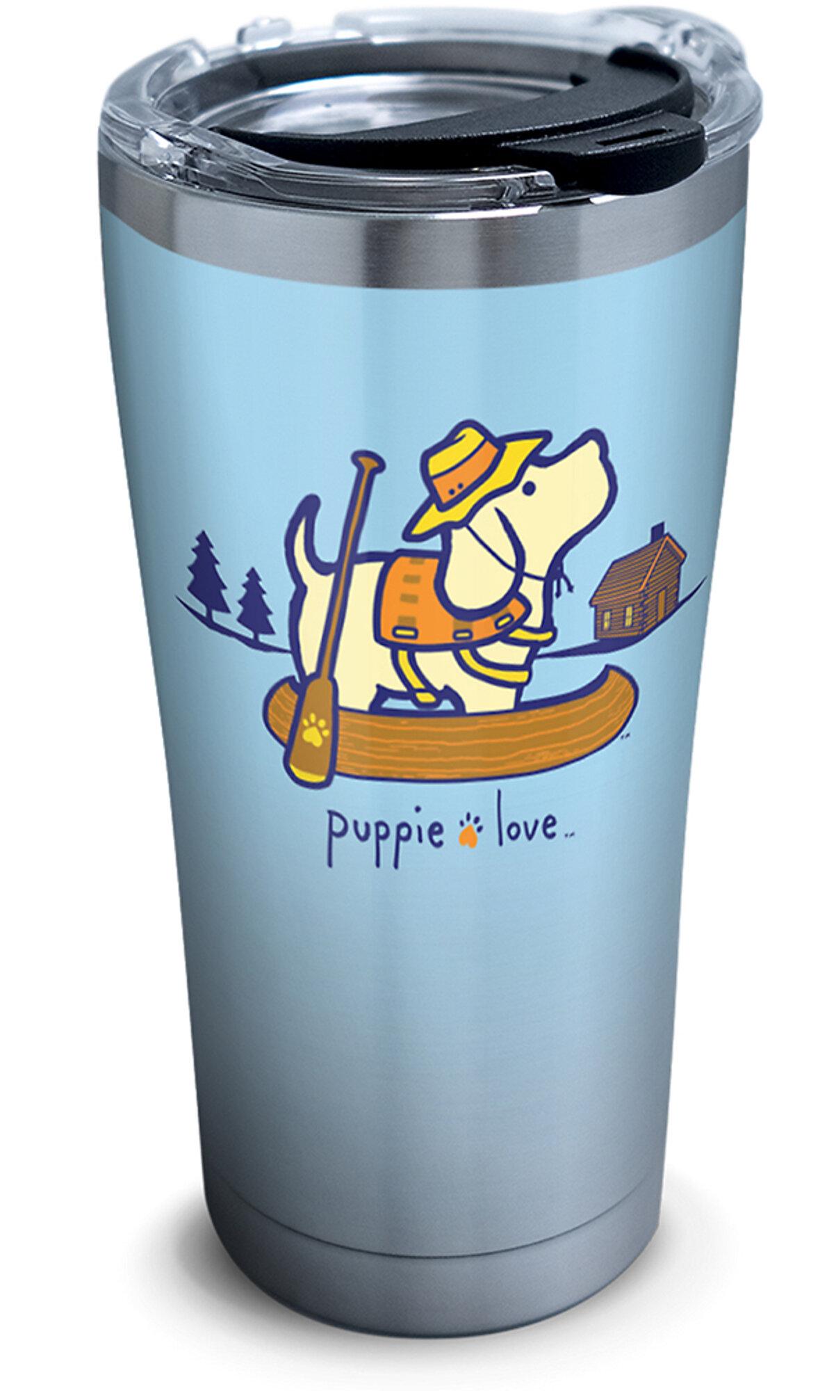 Tervis Tumbler Puppie Love Canoe 20 Oz Stainless Steel Travel Tumbler Wayfair