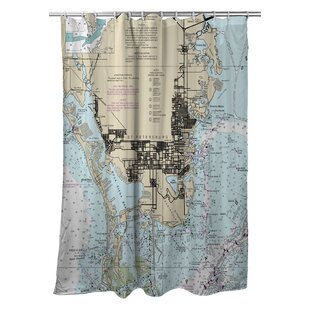 Ellisburg St. Petersburg, FL Single Shower Curtain