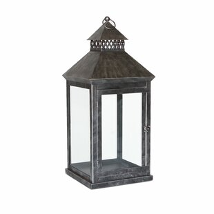 Peak Season Inc. Greenwich Steel Lantern