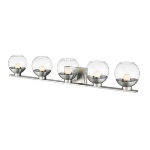 Wrought Studio Mingus 5-Light LED Vanity Light