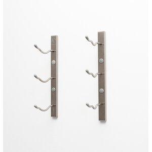 Weinregal Wall Series für 3 Fl. von ClearAmbient