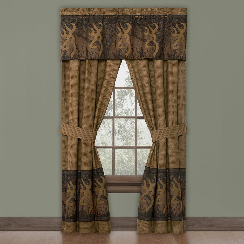 Browning Buckmark Curtain Panels Reviews Wayfair