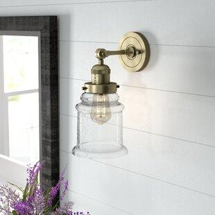 Greeley 1-Light Bath Sconce by Laurel Foundry Modern Farmhouse