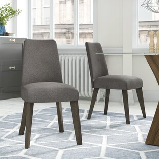 Dipasquale Upholstered Dining Chair (Set Of 2) By Ebern Designs