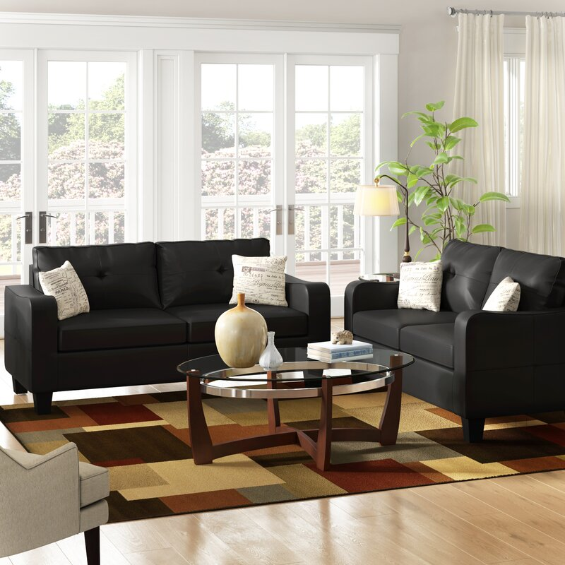 Beautiful Winston Porter Jayleen 2 Piece Living Room Set U0026 Reviews | Wayfair
