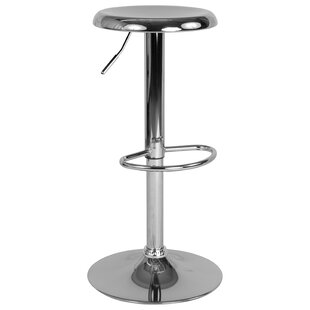 Decamp Adjustable Height Swivel Bar Stool