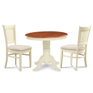 Cedarville 3 Piece Dining Set by Alcott Hill