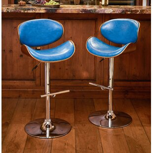Hower Adjustable Height Swivel Bar Stool