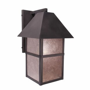 Comparison Martis 1-Light Outdoor Wall Lantern By Steel Partners