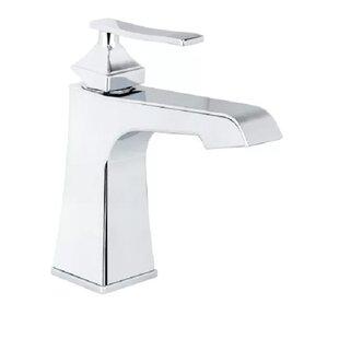 Elysa Single Hole Bathroom Faucet with Push-Pop Drain Assembly ByMiseno