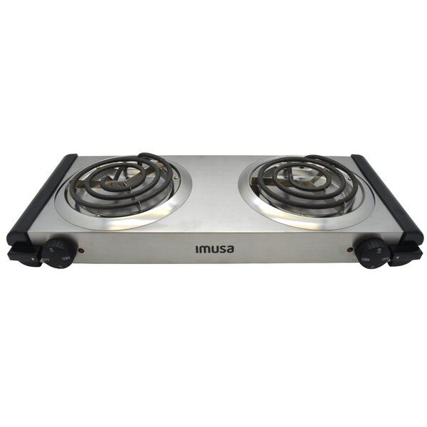 IMUSA Electric Double Burner U0026 Reviews | Wayfair
