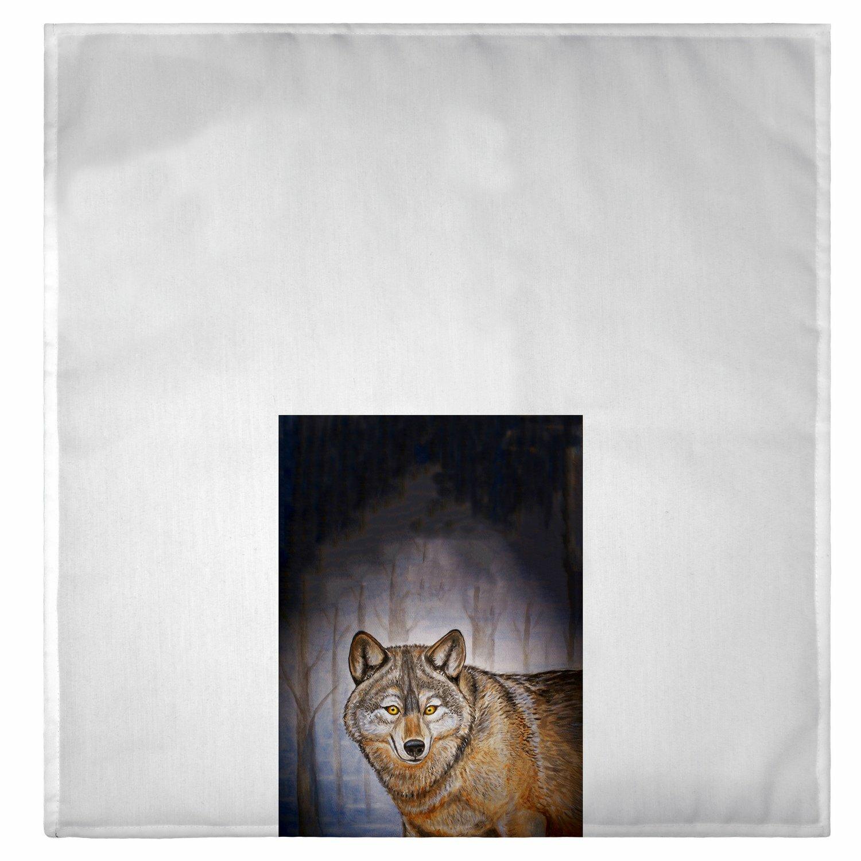 Millwood Pines Heenan Wolf Hand Towel Wayfair