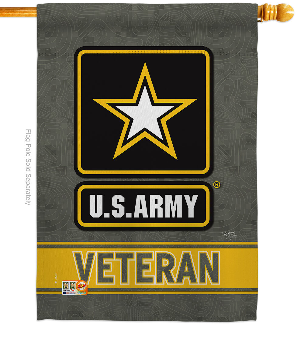 Marine Semper Fi Sublimated Garden Flag FREE SHIPPING! 2 ply polyester
