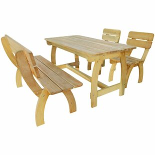 Burnett 4 Seater Dining Set By Sol 72 Outdoor