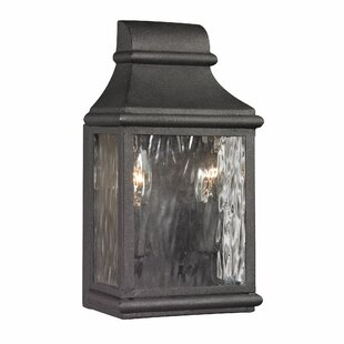 August Grove Negron 2-Light Outdoor Wall Lantern
