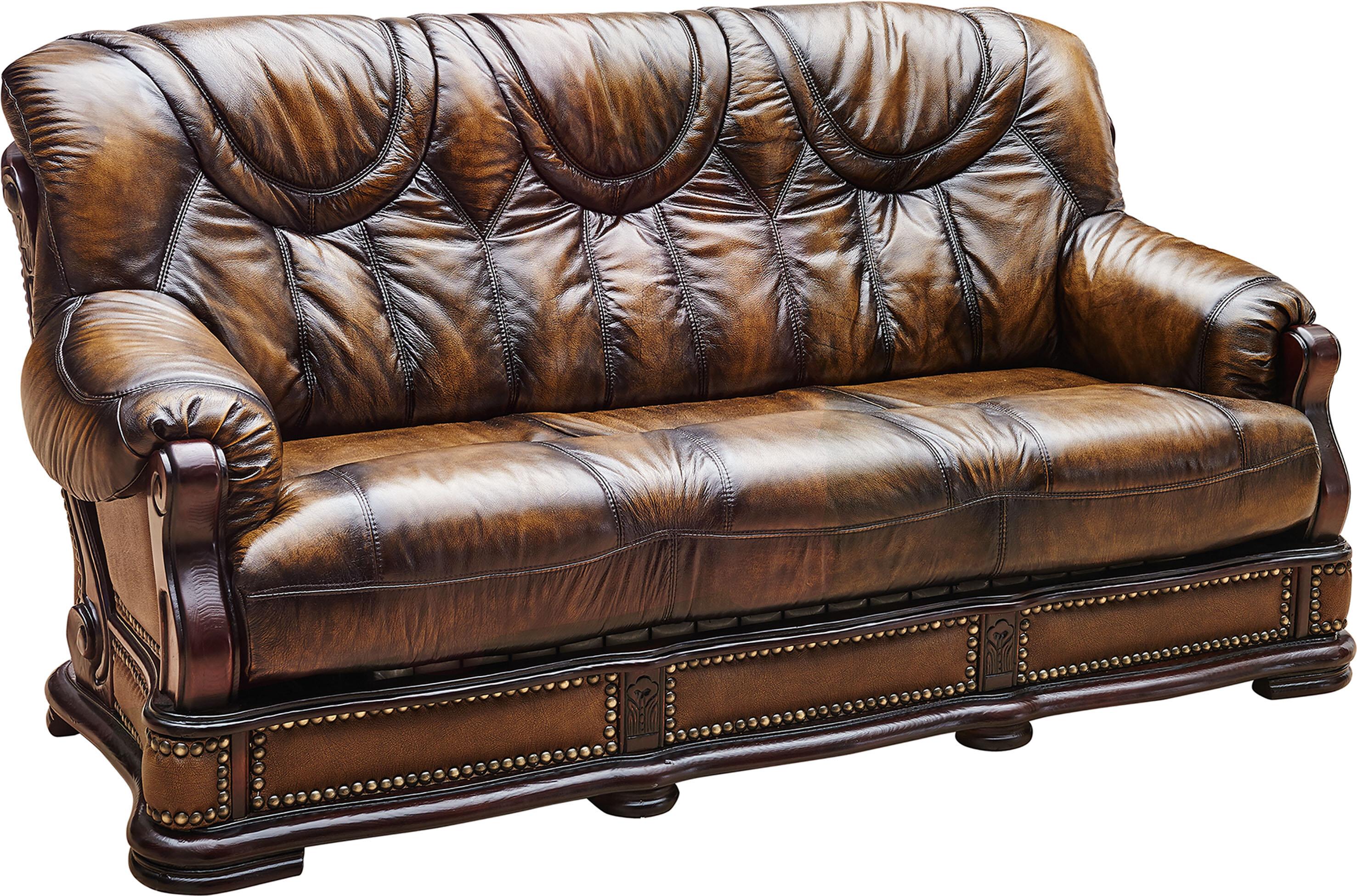 Gerdie Leather Sofa Bed
