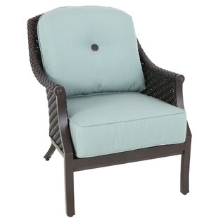 Kanzler Patio Chair with Cushions (Set of 4)