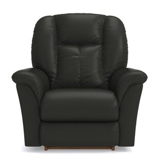 Jasper Leather Power Rocker Recliner
