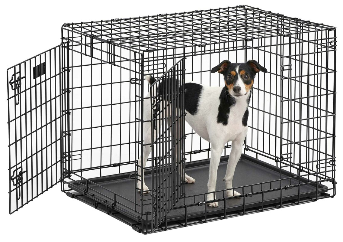 Ultima Pro Fold and Carry Double Door Pet Crate
