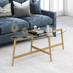Emma Oval Coffee Table by Modern Rustic Interiors