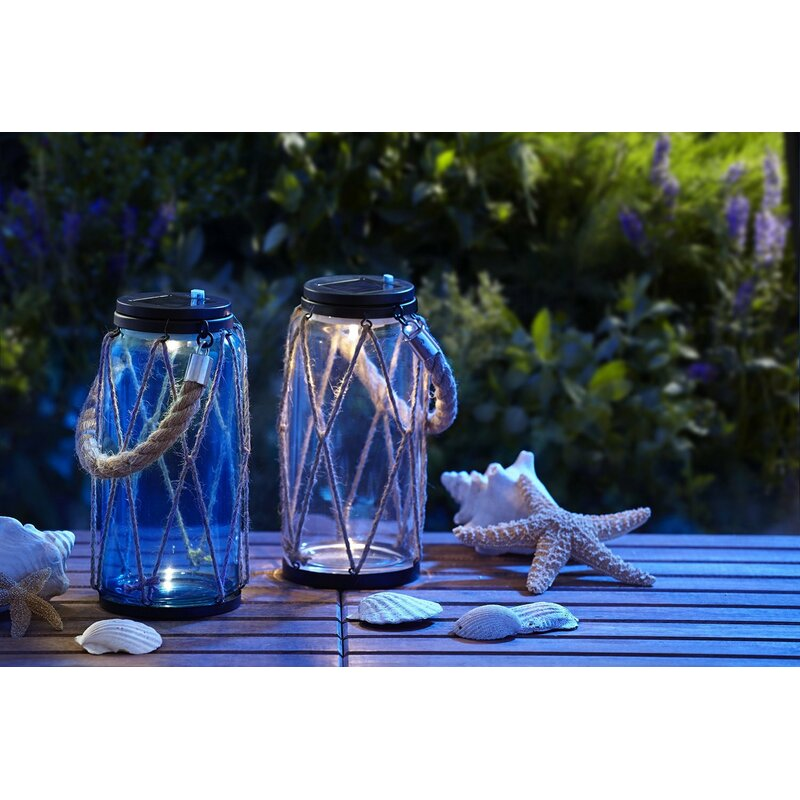 Rope 1-Light LED Outdoor Hanging Lantern